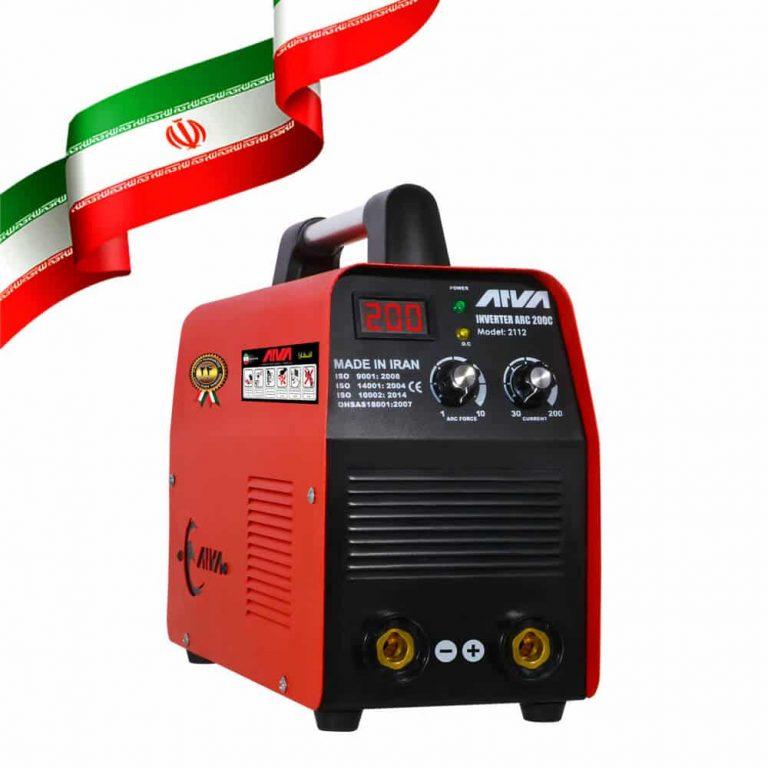 دستگاه اینورتر جوشکاریARC200c دو ولوم ساخت ایران مدل 2112