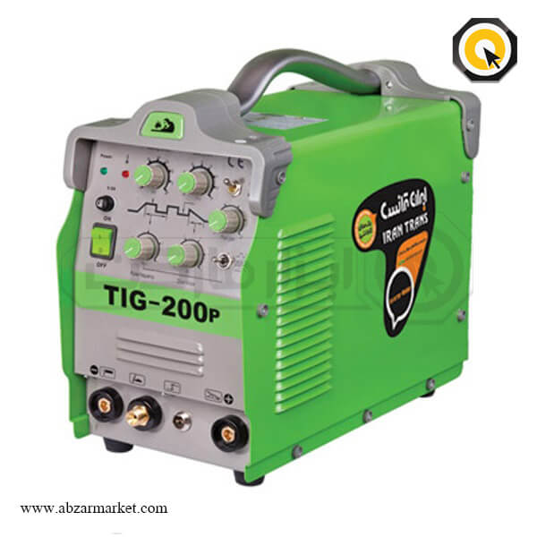 اینورتر جوشکاری ایران ترانس تیگ و الکترود مدل TIG200 P