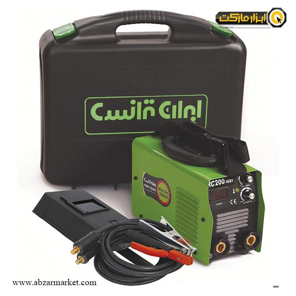 اینورتر جوشکاری ایران ترانس 200 آمپر مدل mini arc 200 AH