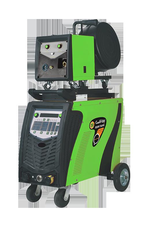 دستگاه جوش اینورترمیگ و الکترود دیجیتال  MIG401DPI