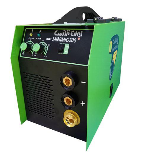 دستگاه جوش اینورتر میگ مگ و الکترود  MINIMIG200