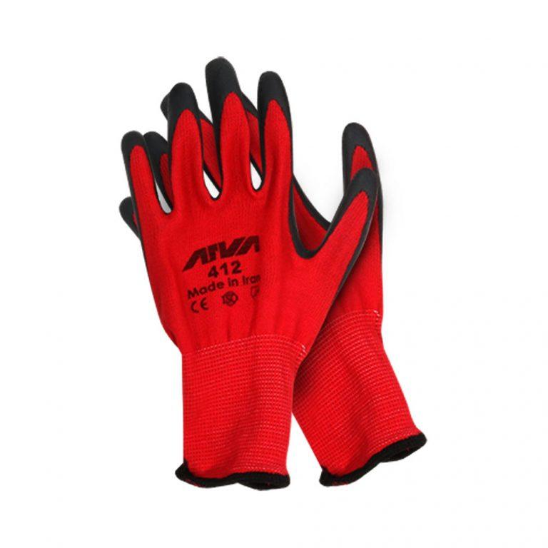 دستکش ایمنی ضد برش آروا مدل 412
