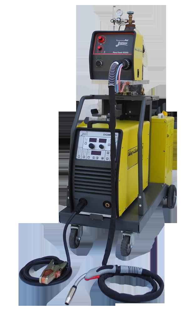 دستگاه اینورتری مدل DIGI MIG 401 هواخنک/آب خنک