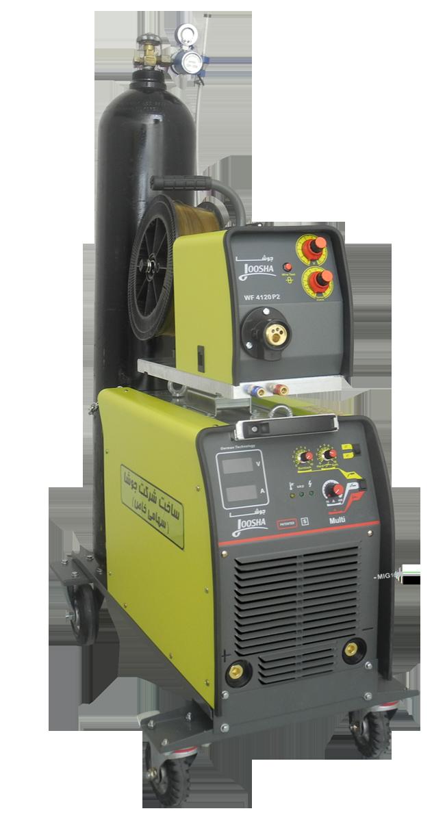 دستگاه چندکاره اینورتری مدل MULTI-MIG 1611 هوا خنک/آب خنک