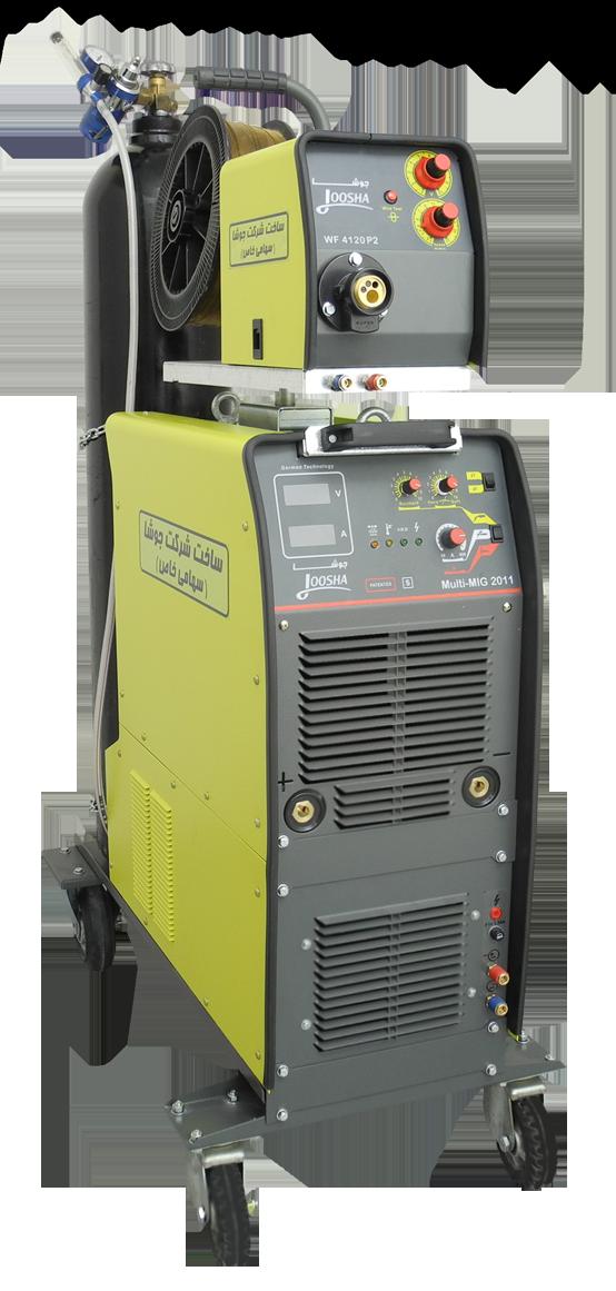 دستگاه چندکاره اینورتری مدل MULTI-MIG 2011 هوا خنک/آب خنک