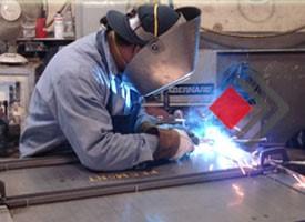 آماده سازی محل جوشکاری فولادهای گالوانیزه